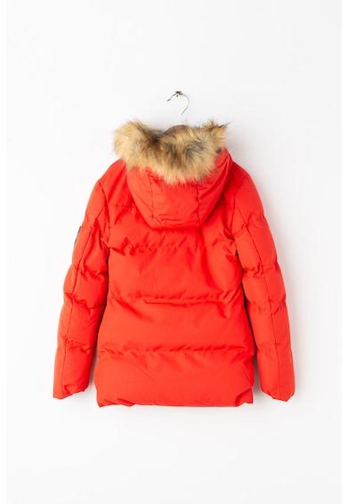 Geographical Norway Дълго зимно подплатено яке Crown Момичета