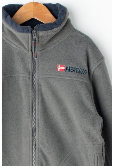 Geographical Norway Поларен суитшърт Tamazonie с цип Момичета