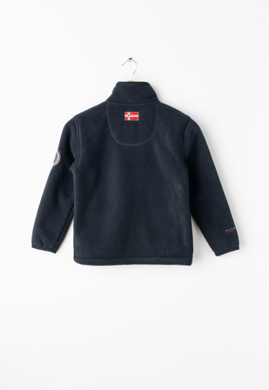 Geographical Norway Bluza sport din fleece cu fermoar Usine Baieti