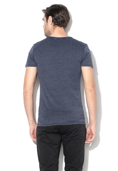BLEND Grafikai mintás póló férfi