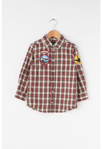Diesel Десенирана риза с апликации Момчета