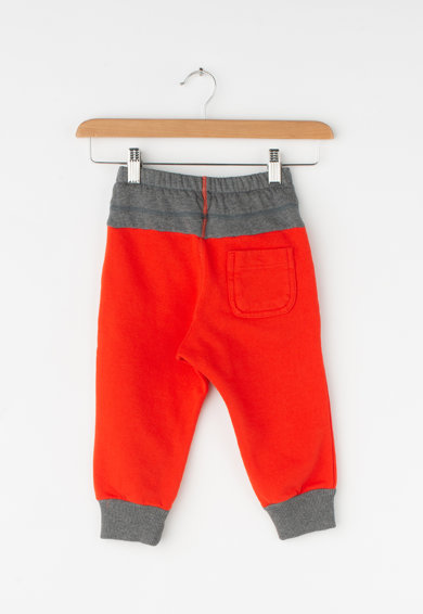 Diesel Pantaloni sport cu imprimeu text Baieti