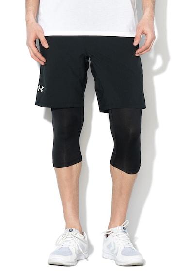 Under Armour Szűkített fazonú futó rövidnadrág leggings betéttel férfi