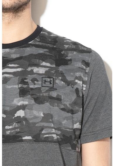 Under Armour Tricou lejer cu imprimeu camuflaj, pentru fitness Barbati