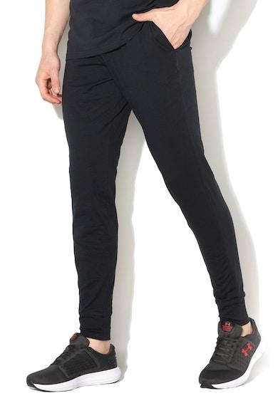 Under Armour Pantaloni sport cu logo lateral, pentru fitness Barbati