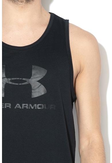 Under Armour Laza fitnesztop logóval férfi