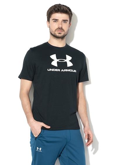 Under Armour Tricou cu imprimeu logo, pentru fitness Barbati