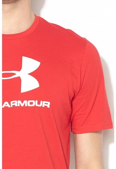Under Armour Фитнес тениска с лого Мъже