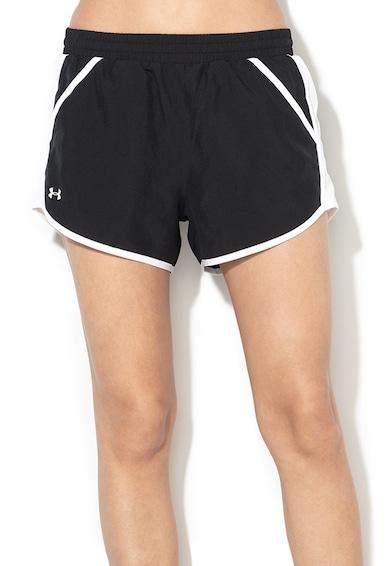 Under Armour Pantaloni lejeri cu insertii de plasa, pentru alergare Femei