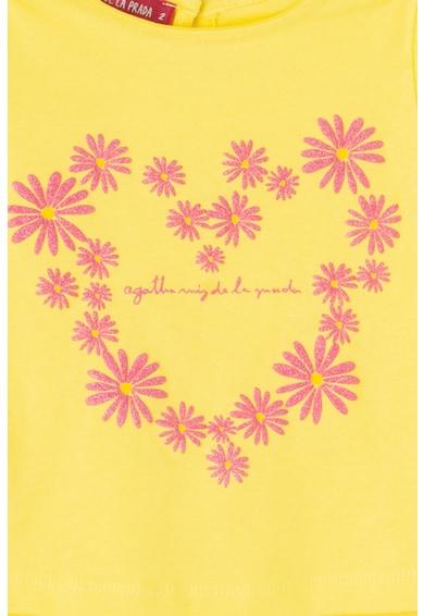 Agatha Ruiz de la Prada Tricou cu imprimeu floral Fete
