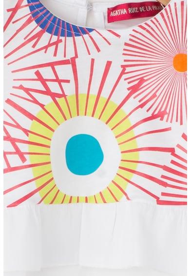Agatha Ruiz de la Prada Тениска Africa с разкроен дизайн Момичета
