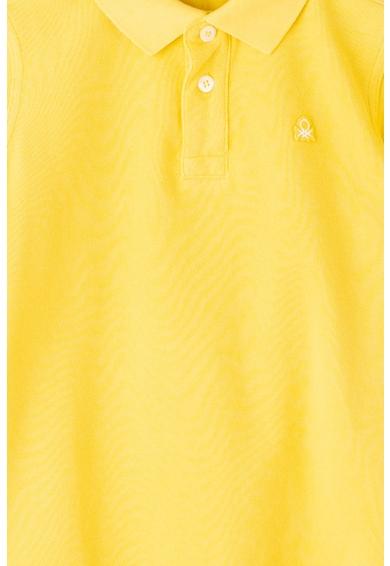 United Colors of Benetton Tricou polo cu logo brodat Baieti