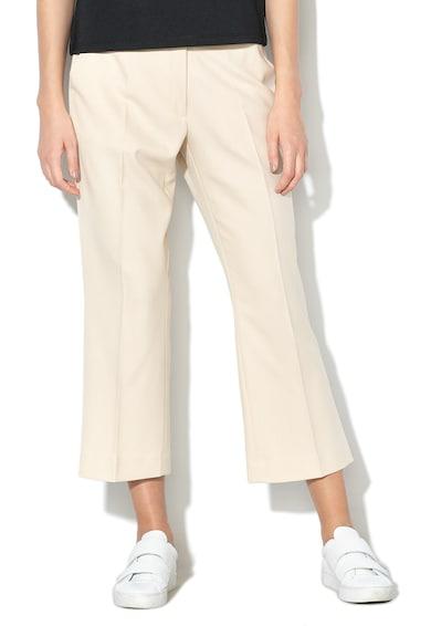 Sisley Pantaloni capri texturati cu croiala ampla Femei