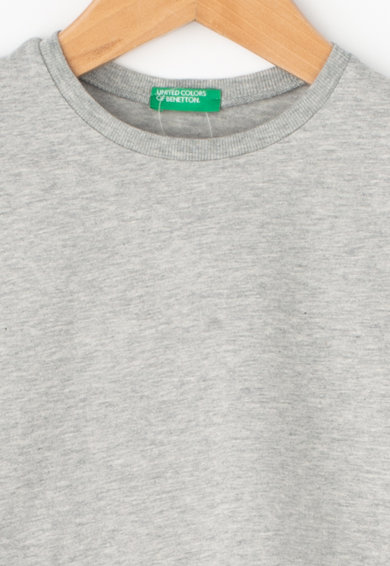 United Colors of Benetton Tricou din bumbac organic cu logo brodat Fete