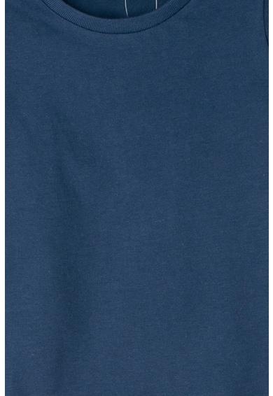United Colors of Benetton Tricou din bumbac organic cu logo brodat Fete