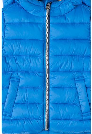United Colors of Benetton Bélelt könnyű súlyú kabát kapucnival Fiú