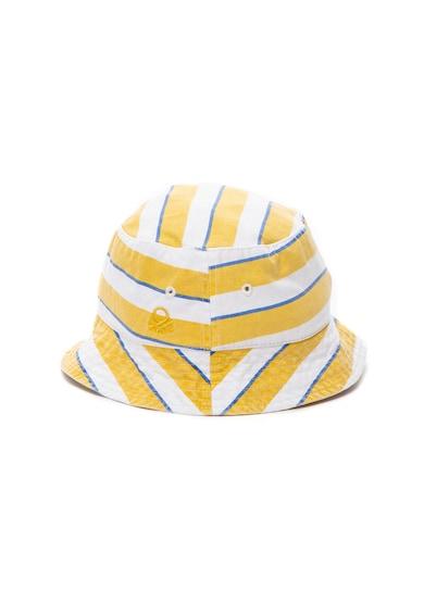 United Colors of Benetton Palarie bucket de panza, cu model in dungi Baieti