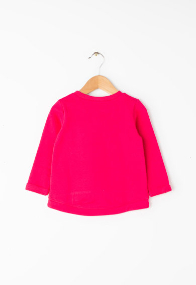 United Colors of Benetton Logómintás pulóver Lány