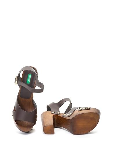 United Colors of Benetton Sandale de piele Femei