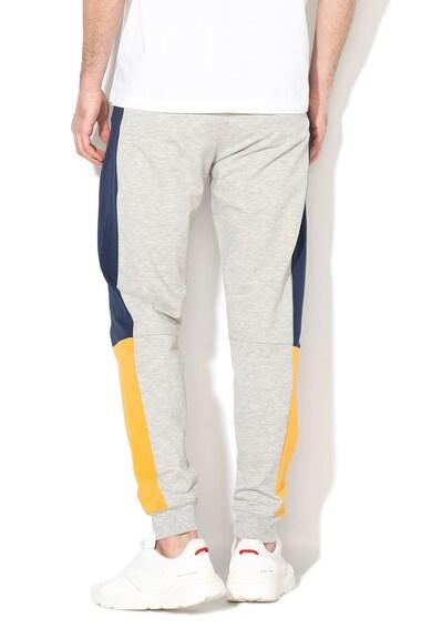 Guess Pantaloni sport de casa, cu model colorblock Barbati