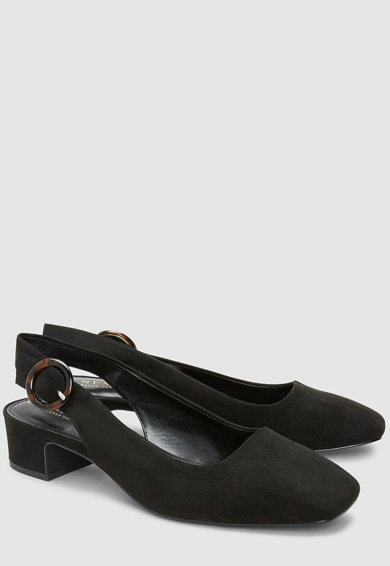 NEXT Nyersbőr hatású pántos cipő női