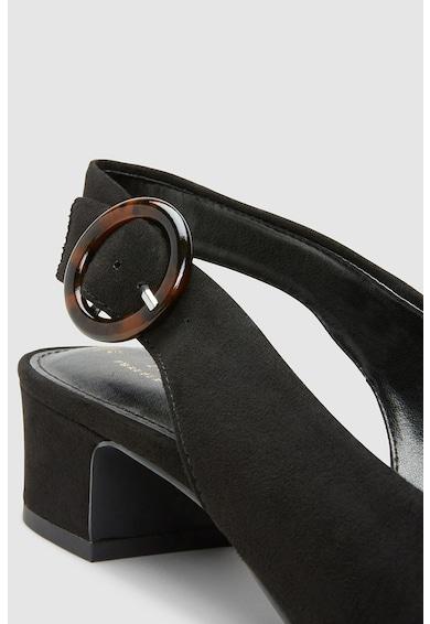 NEXT Pantofi slingback de piele intoarsa ecologica Femei