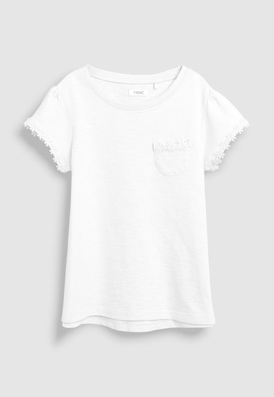 NEXT Тениска с флорални детайли Момичета
