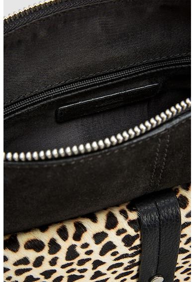 NEXT Nyersbőr keresztpántos táska zsebbel az elején női