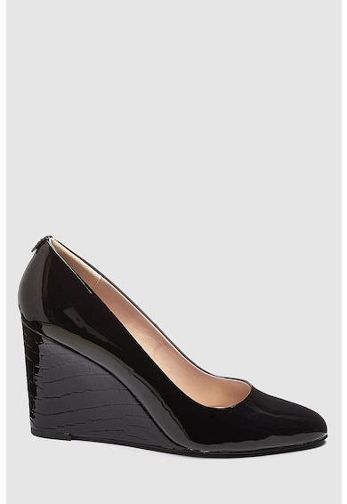 NEXT Telitalpú cipő lakkozott hatással női