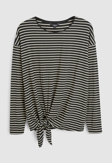NEXT Bluza in dungi cu prindere frontala Femei