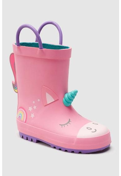 NEXT Cizme de ploaie, cu model unicorn Fete
