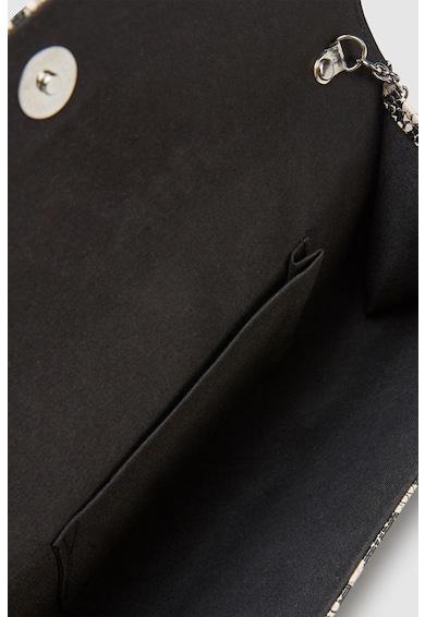 NEXT Geanta plic de piele ecologica, cu model reptila Femei
