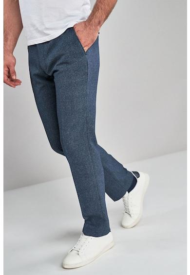 NEXT Kockás szűkített nadrág férfi
