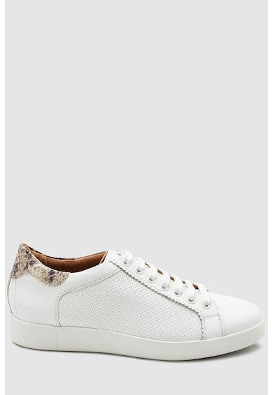 NEXT Pantofi sport de piele cu perforatii Femei