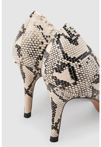 NEXT Műbőr hegyes orrú cipő női