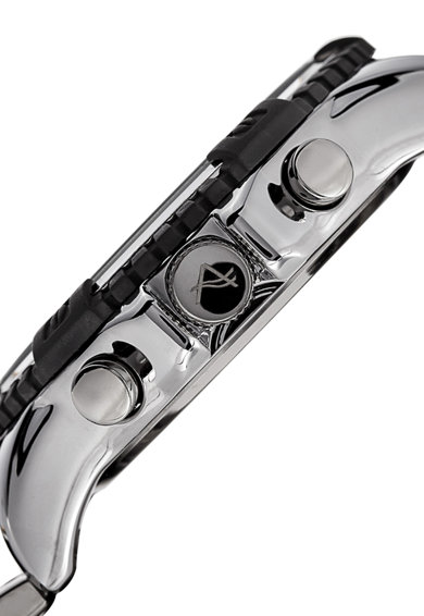August Steiner Chrono karóra rozsdamentes acél szíjjal férfi