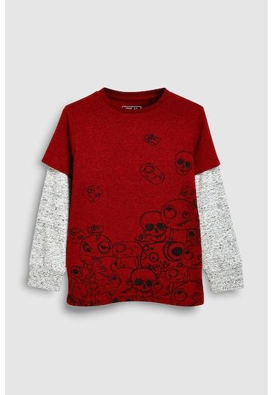 NEXT Bluza cu imprimeu si model 2in1 Baieti