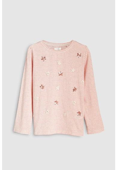 NEXT Раирана блуза с декорации Момичета