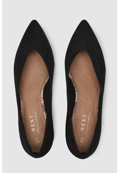 NEXT Pantofi cu toc masiv si varf ascutit Femei