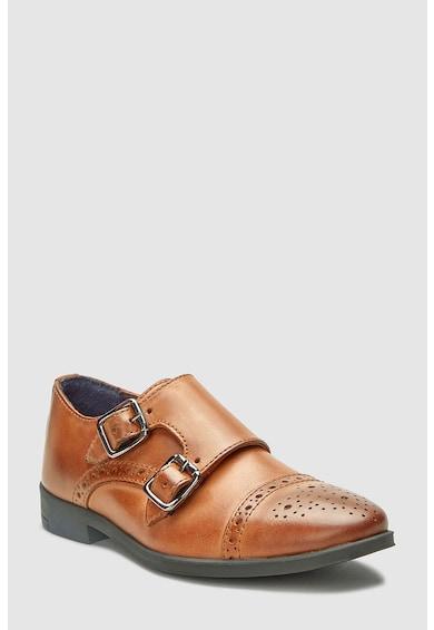 NEXT Pantofi de piele cu detalii brogue Baieti