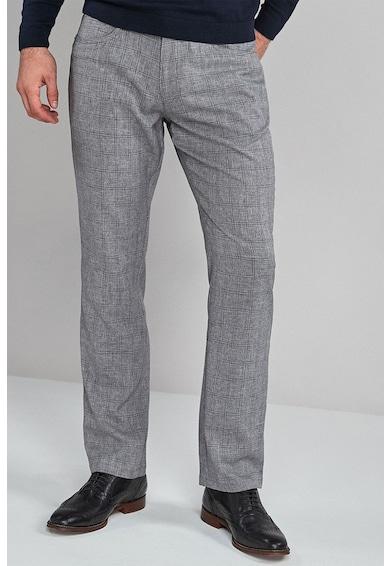 NEXT Pantaloni regular fit in carouri Barbati