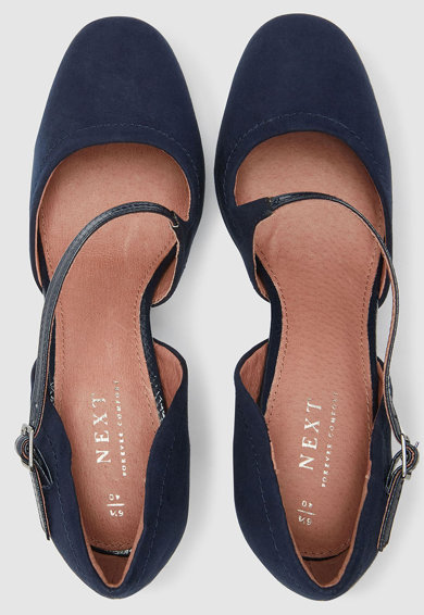 NEXT Pantofi Mary-Jane cu toc clasic Femei