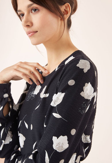 NEXT Rochie cu croiala in A si model floral Femei
