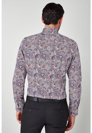 NEXT Риза по тялото с индийска шарка Мъже