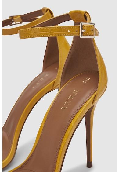 NEXT Sandale de piele ecologica cu toc inalt Femei
