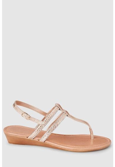 NEXT Sandale wedge cu bareta separatoare Femei