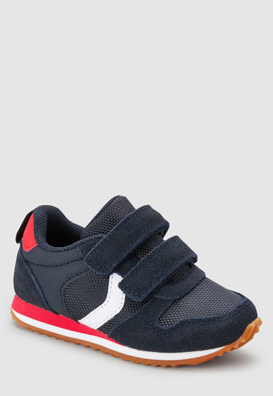 NEXT Кожени спортни обувки с велкро Момчета