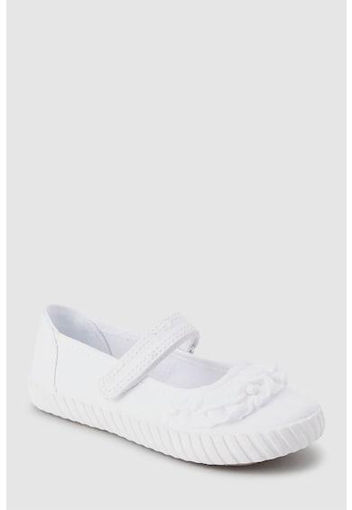 NEXT Pántos cipő fodros rátétekkel Lány