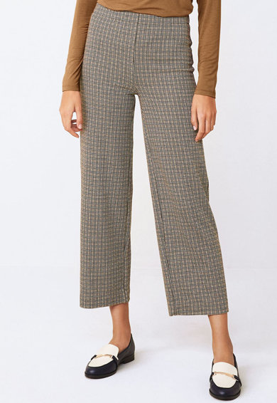 NEXT Pantaloni culotte cu model houndstooth Femei