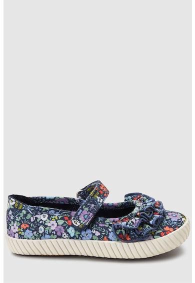 NEXT Обувки стил Mary Jane с набирания и флорална шарка Момичета